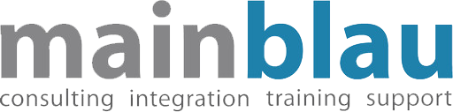Mainblau Logo