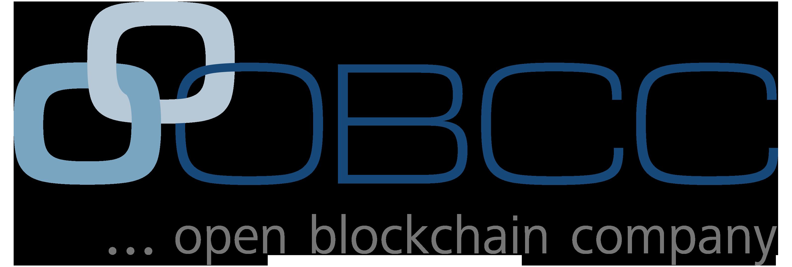 OB//CC - open blockchain company Logo